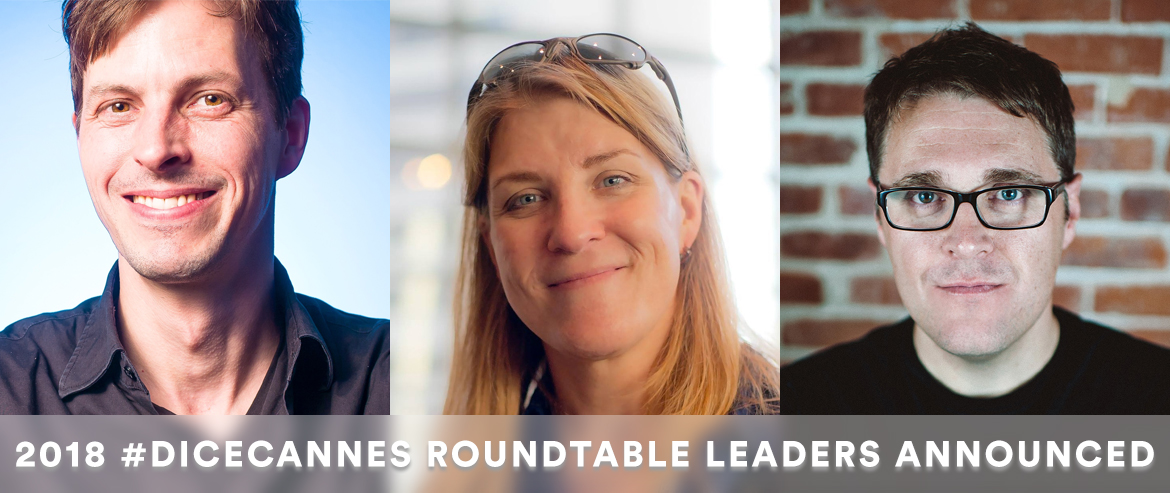 First set of roundtable leaders announced for DICE Cannes