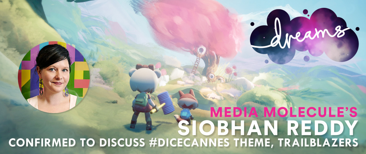 Siobhan Reddy, Media Molecule - DICE Cannes 2018