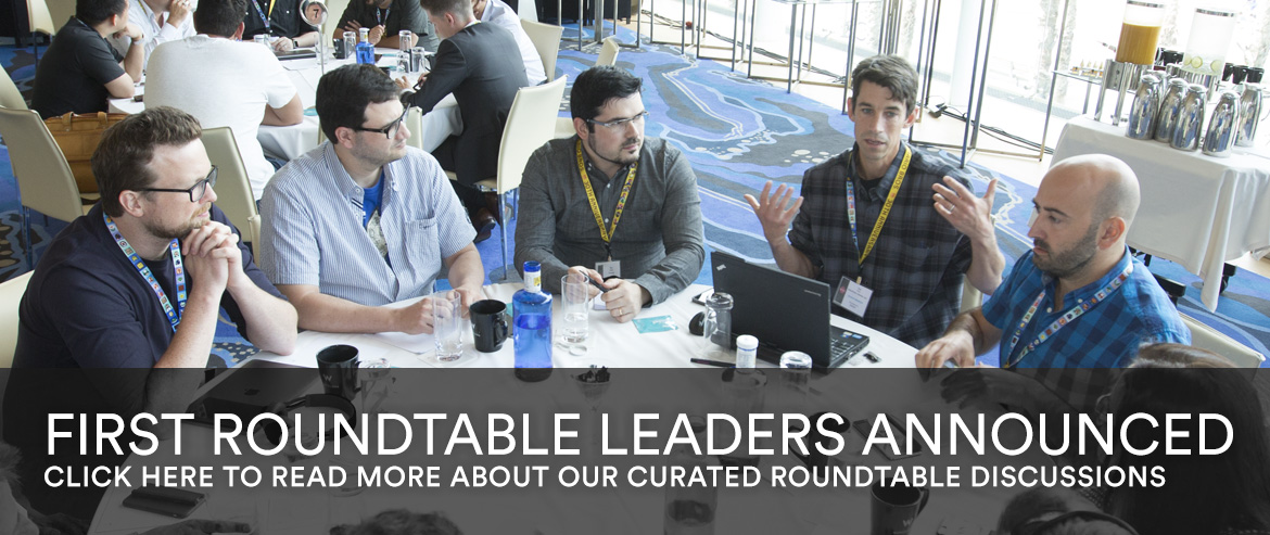 First Roundtable Leaders Announced