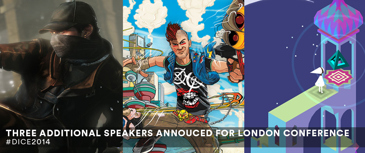 New Speakers Announced